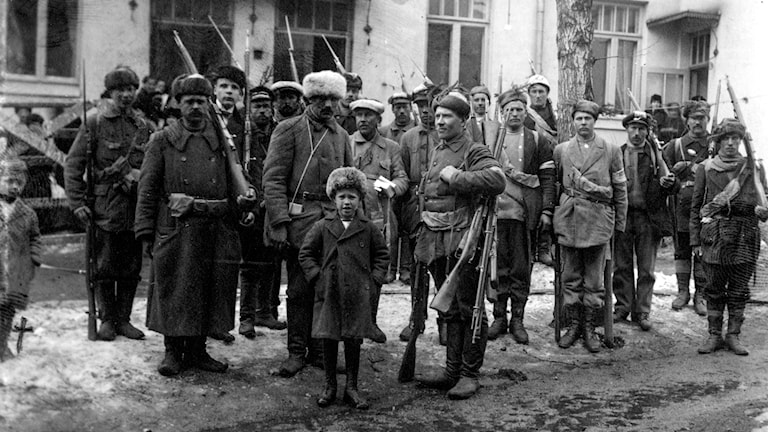 Finlands inbördeskriget 1918.