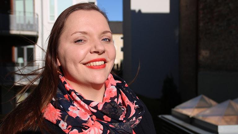 Oopperalaulaja Johanna Fiskaali Malmössä