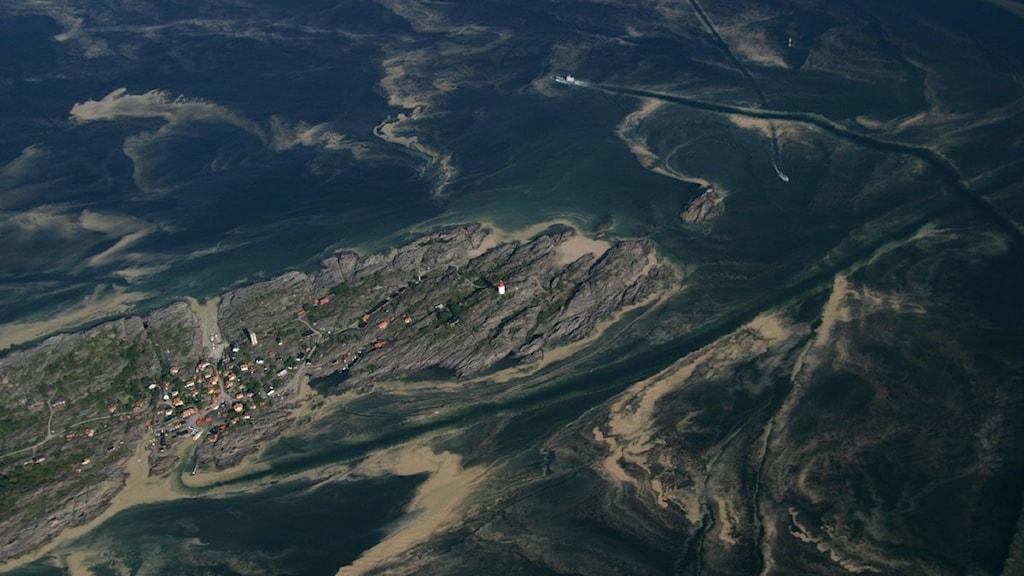Itämeri ja saaristoa.