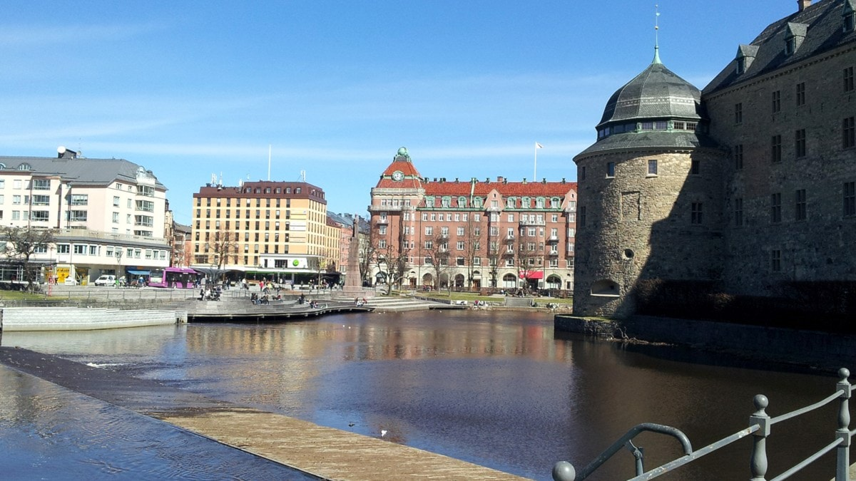 Örebro, Linna /Slottet. Kuva/Foto: Anna Tainio, Sveriges Radio Sisuradio