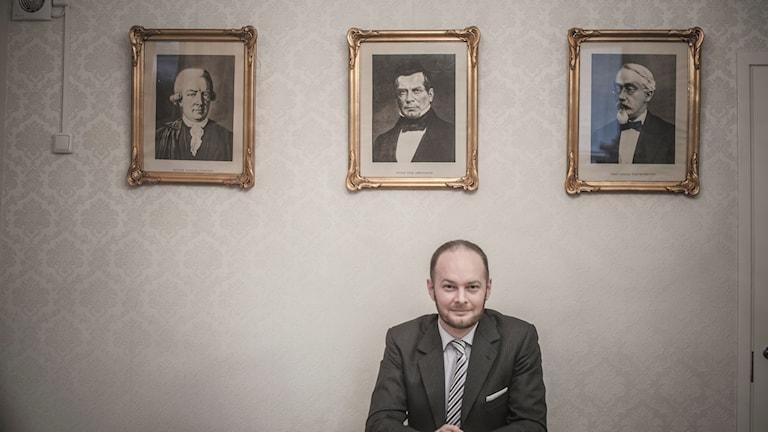 Sampo Terho, Sinisen Tulevaisuuden puheenjohtaja.