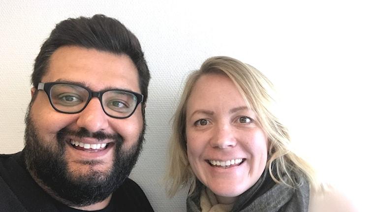 Kyösti Hagert och Julia Wiraeus