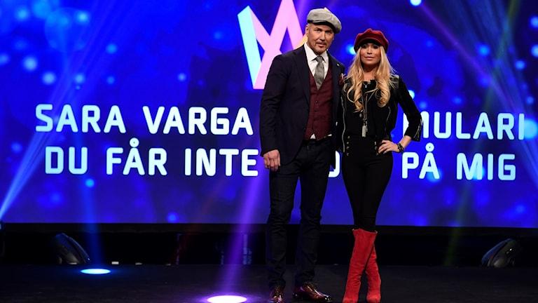 Juha Mulari osallistuu Melodifestivalen-kilpailuun 2017 yhdessä Sara Vargan kanssa