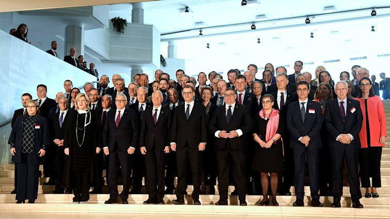 Yli 30 maan ulkoministerit kokokoontuvat Helsingissä.