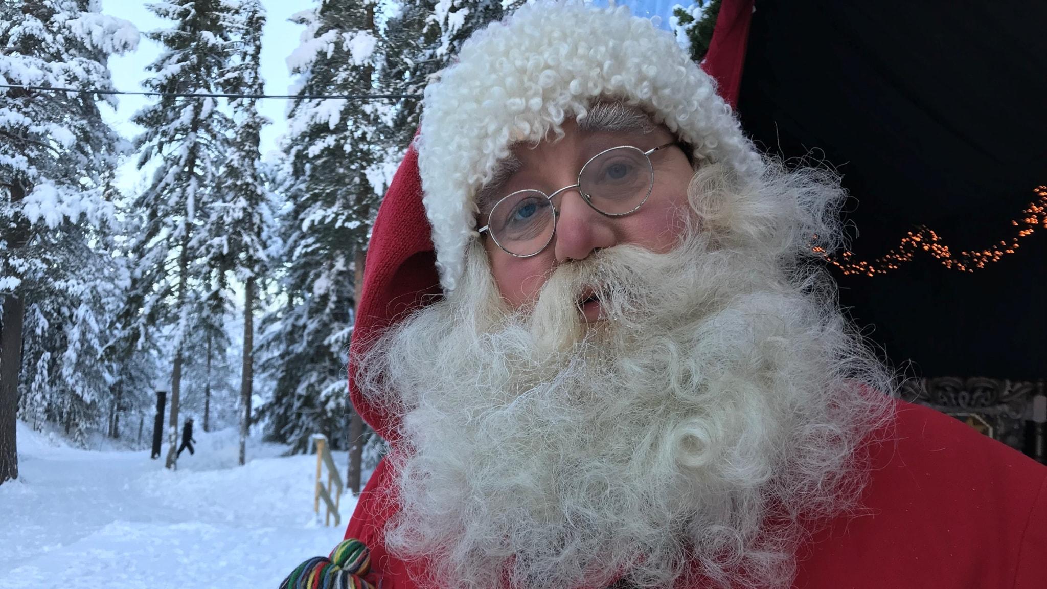 Huomenta Ruotsi vierailee Joulupukin luona