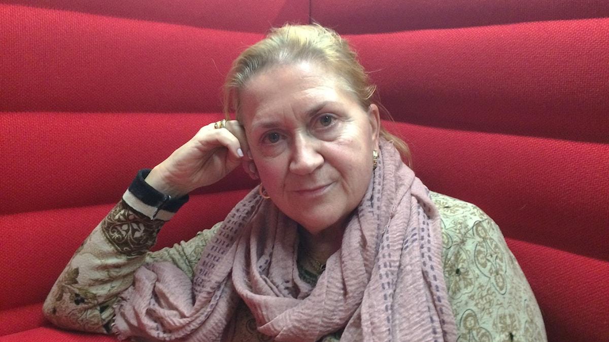 Kirjailija Anja Snellman Malmössä 2017
