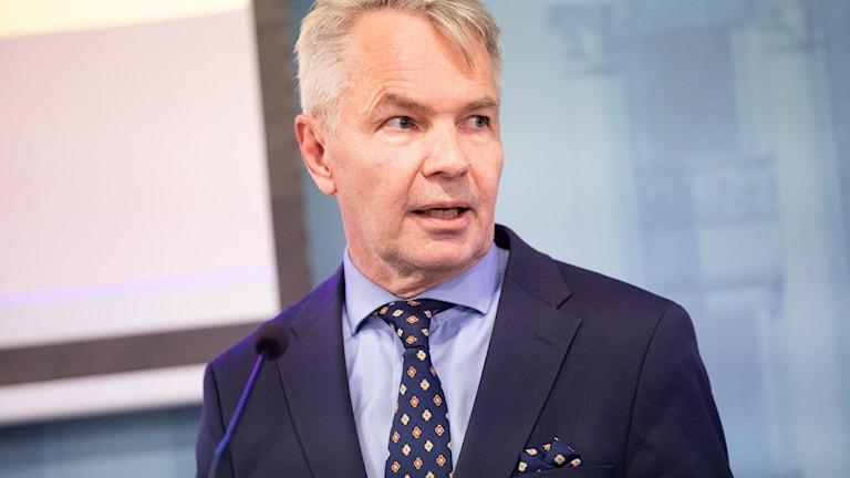 Suomen ulkoministeri Pekka Haavisto.