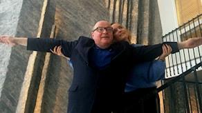 Jorma Ikäheimo ja Anni Riit'aho ovat Titanic-elokuvan rakastavaiset Jack ja Rose