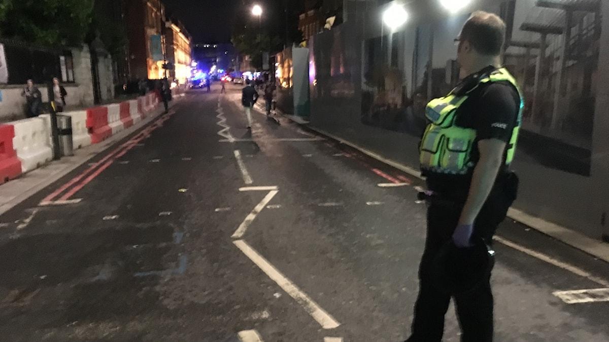 Lontoo terrori-iskun jälkeen