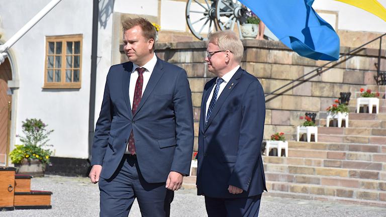 Peter Hultqvist ja Antti Kaikkonen.