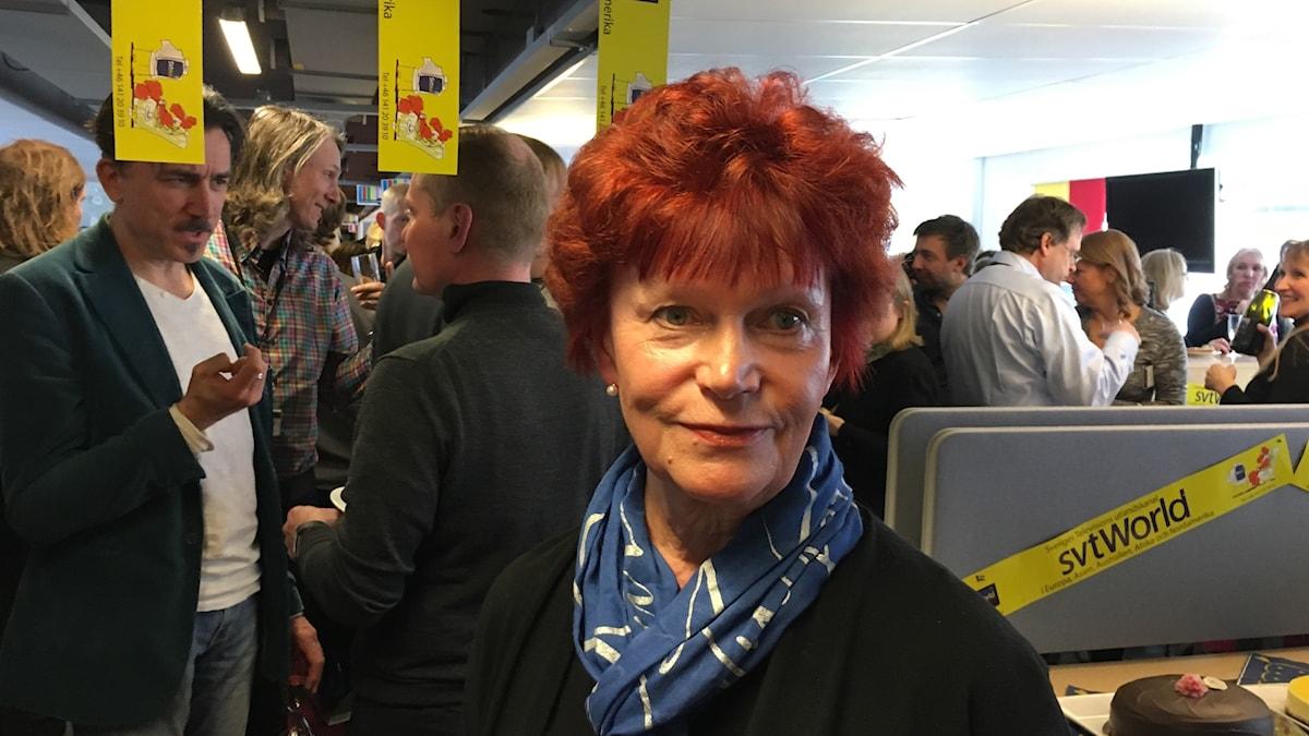 Riffa Hänninen SVT Worldin pitkäaikainen päälikkö