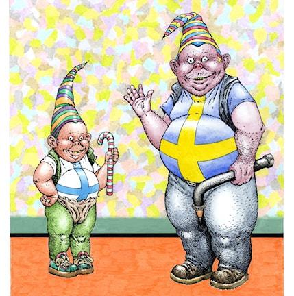 Tukholman kansainvälisten sarjakuvafestivaalien virallinen juliste