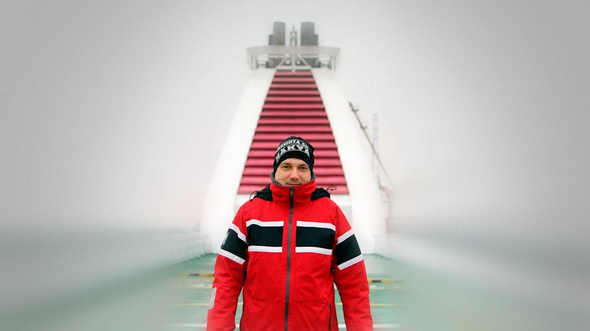 Sami Koski på Finlandsfärjan