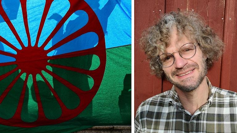 Romska flaggan och Jan Selling