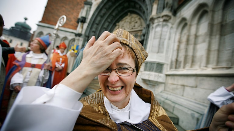 Härnosands fd. biskop Tuulikki Koivunen Bylund