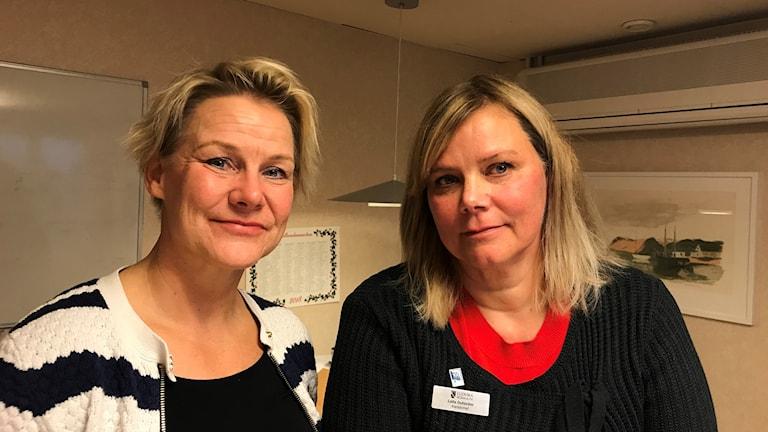 Sanna Seppänen och Laila Dufström