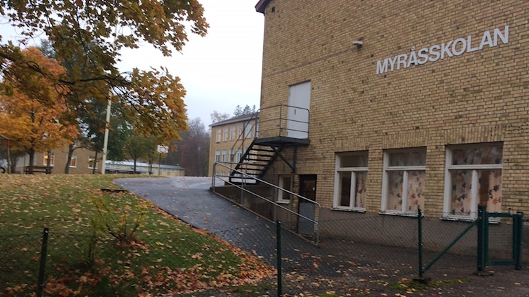 Myråsin koulun koulurakennus