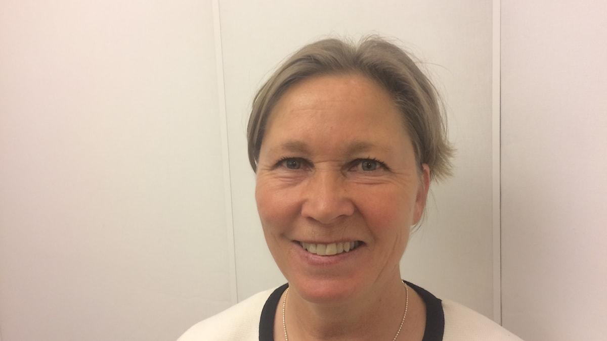 Ruotsin judoliiton puheenjohtaja Kristiina Pekkola