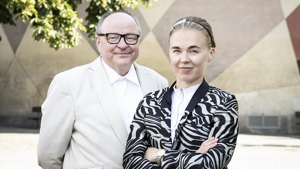Jorma Ikäheimo ja Matilda Peltonen.