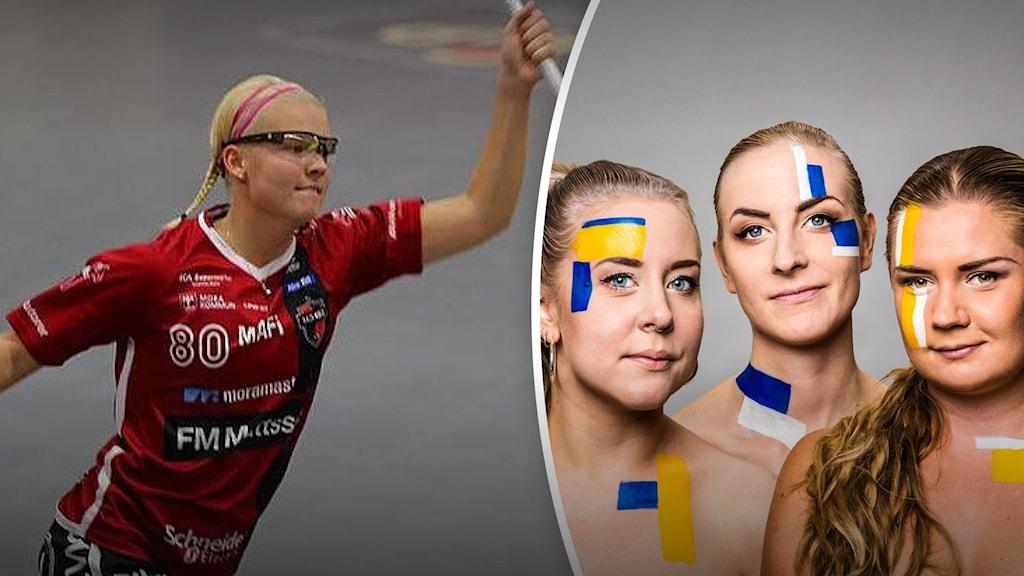Delad bild med My Kipilä till vänster och Populas programledare till höger.