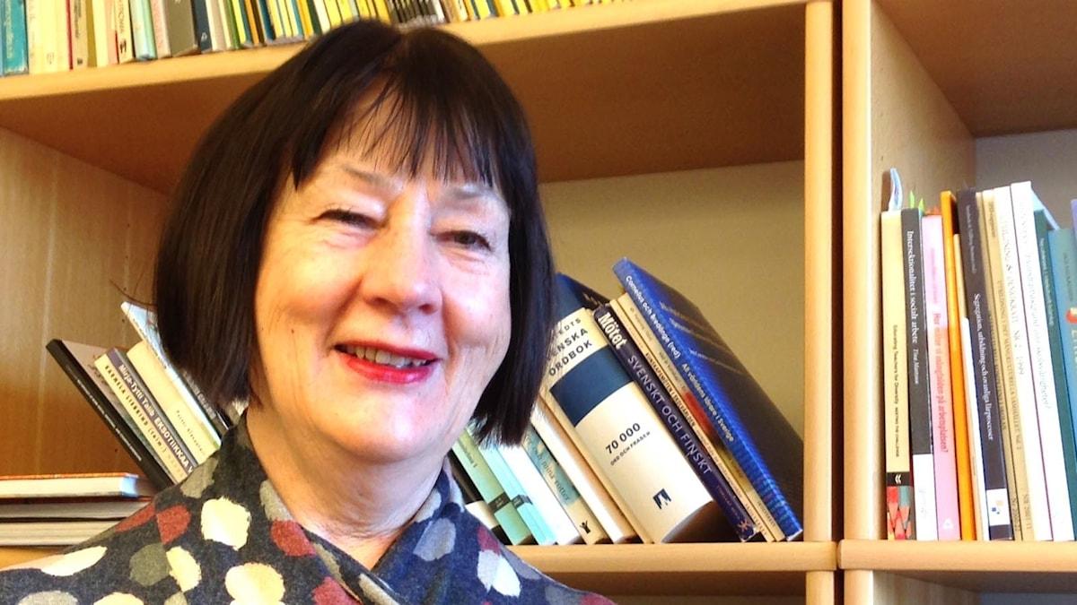 Professori emerita Pirjo Lahdenperä