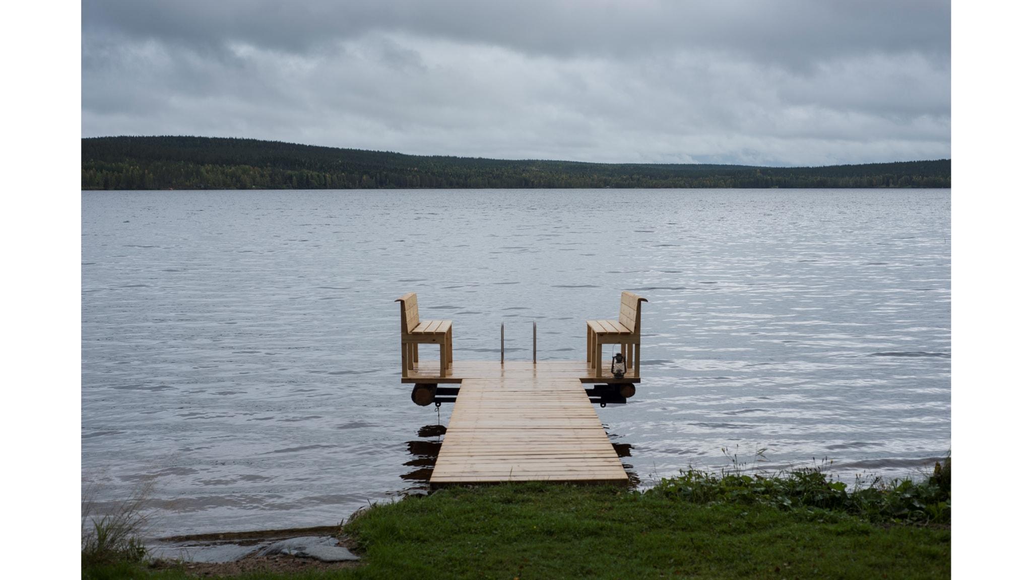 Pudasjärvi on aiheena uudessa sarjassa Huomenta Ruotsissa