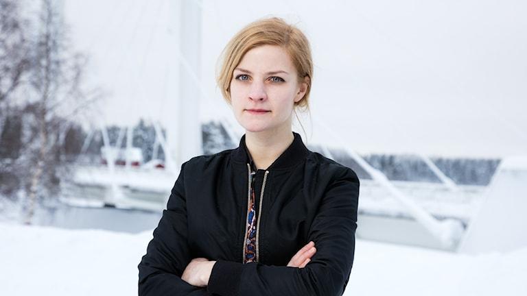 Annika Lantto on Kielipuolen pakinoitsija.