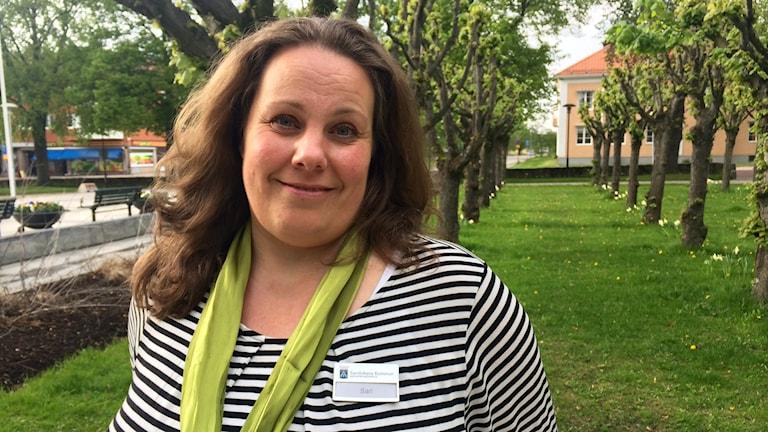 Sari Pedersen työskentelee Sandvikenin kunnalla