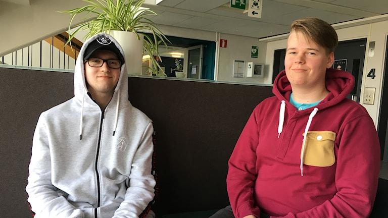 Markus Vehkala och Anton Johansson