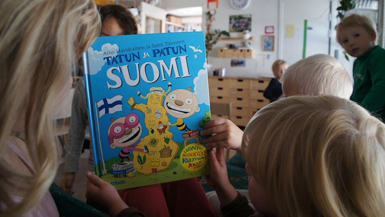 Suomen kieltä luulajan esikouluissa