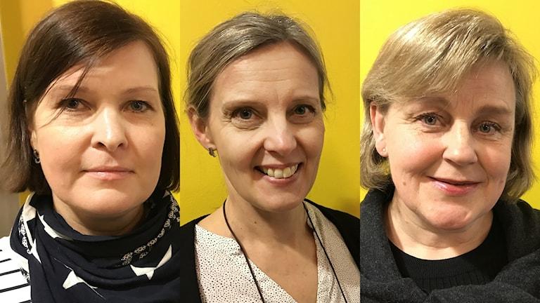 Piia Kartano,  Kirsi Kohtala-Ghane, Anna-Mari Ojutkangas-Hedlund