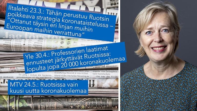 Monika Wirkkala, chef för enheten för talangmobilitet vid Svenska Institutet.