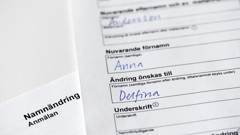 Ruotsin nimilaki uusittiin kesän aikana.