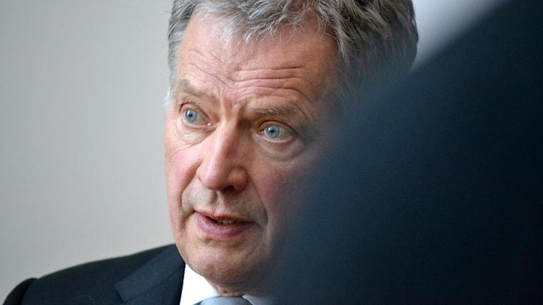 Suomen tasavallan presidentti Sauli Niinistö