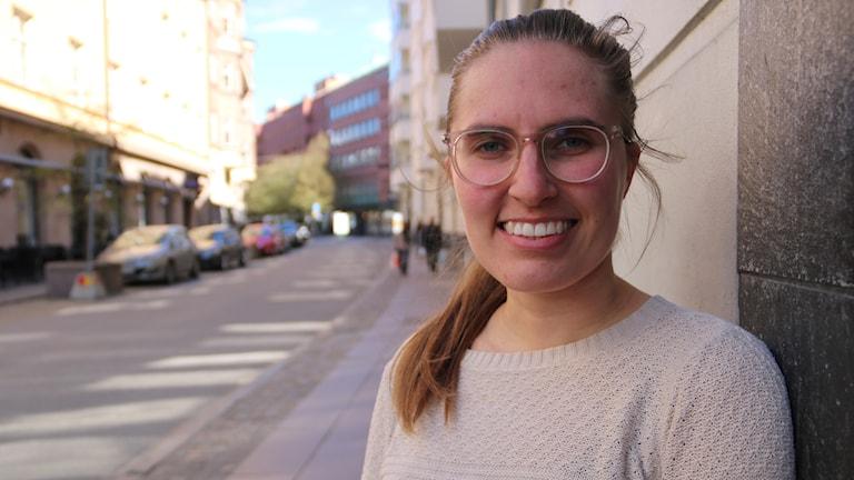 Suunnistaja Lilja Österman Malmössä