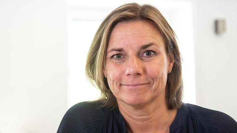 Miljöpartiets språkrör Isabella Lövin
