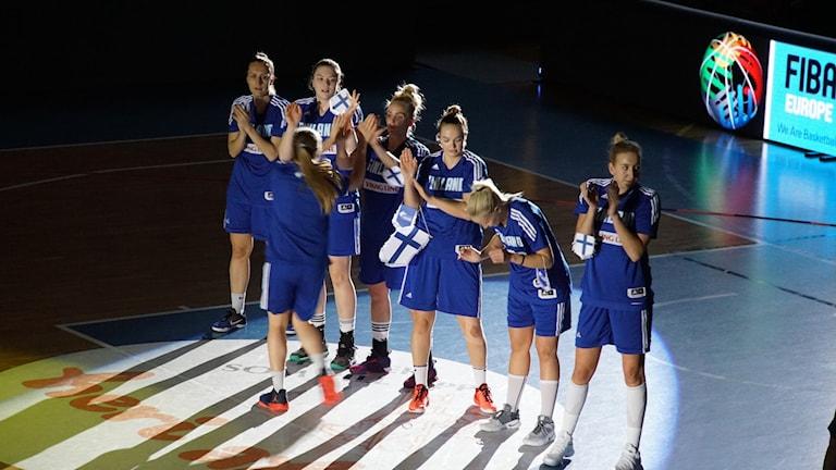 Suomen koripallomajoukkue kärsi tappion