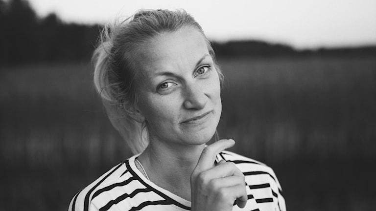 Sveriges Radio Finskan toimittaja Hanna Sihlman