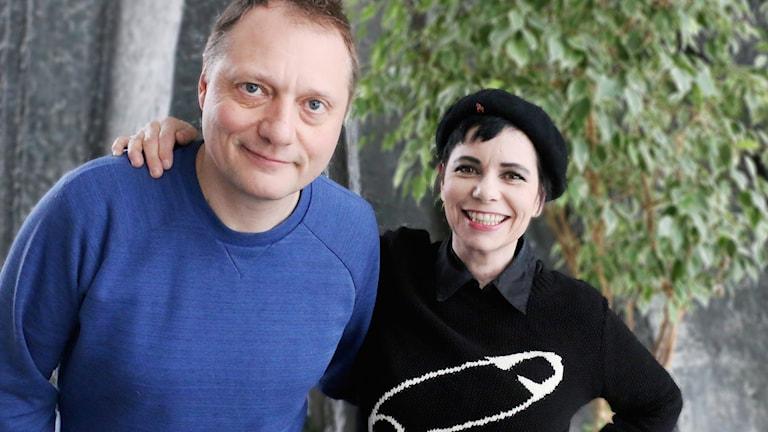 Magnus Carlsson och Carolina Norén