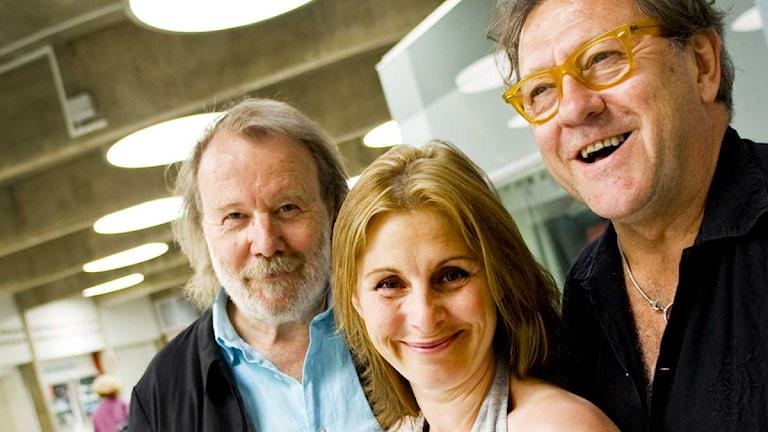 """""""Du är min man"""" med Benny Andersson, Helen Sjöholm, Tommy Körberg och de andra medlemmarna i Benny Anderssons Orkester (BAO) är den låt som legat absolut längst på Svensktoppen. Foto: Christine Olsson / Scanpix"""