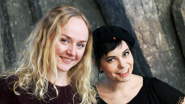 Anna Bergendahl och Carolina Norén