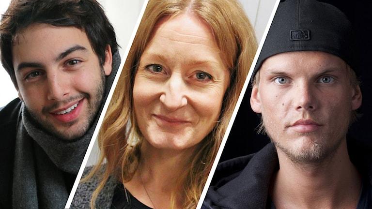 Darin, Anna Stadling och Avicii