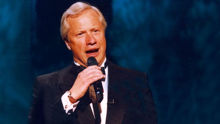Loa Falkman kom sist med Symfonie i Melodifestivalen 1990. Men han fick sin revansch på Svensktoppen. Foto: Carl Johan Söder.