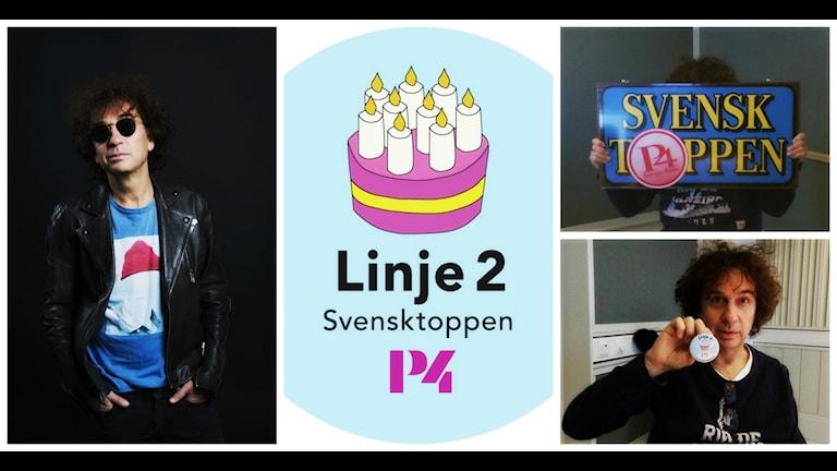 Magnus Uggla tydlig förespråkare för linje två. Foto: Mattias Ahlm/Carolina Norén/Sveriges Radio.
