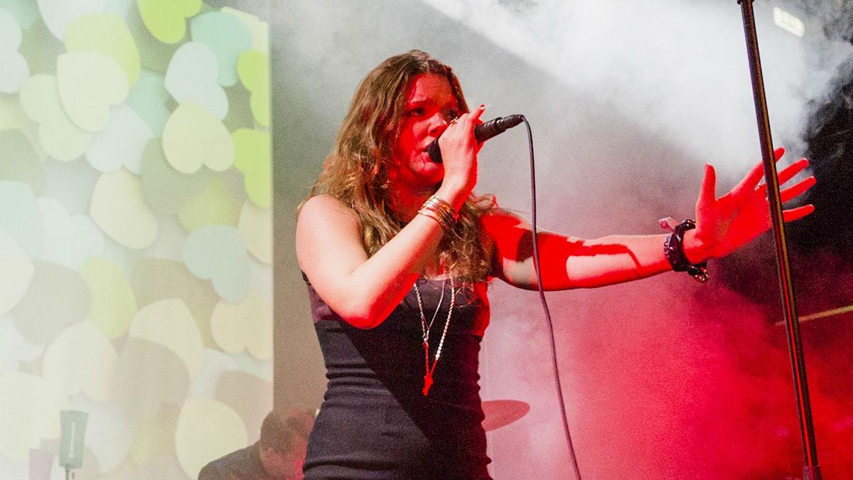 Tove Lo (Foto: Mattias Ahlm/Sveriges Radio)
