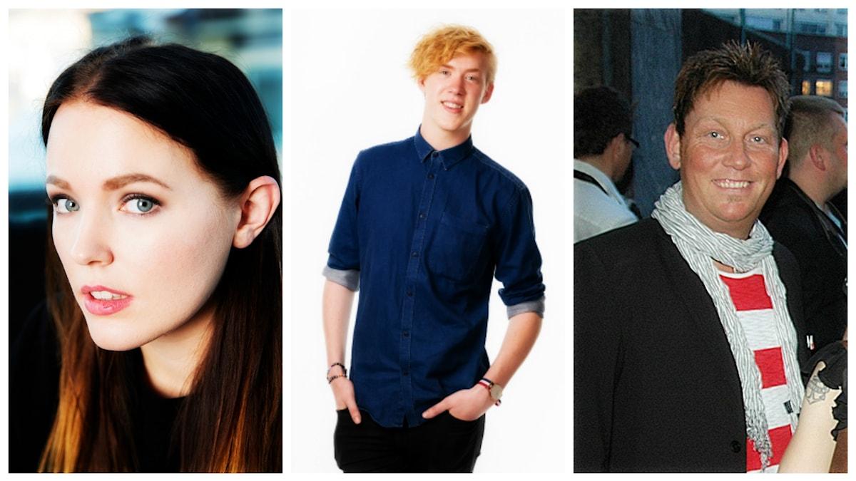 Miriam Bryant, Kalle Johansson och Henrik Sethson som är sångare i Casanovas märks bland veckans utmanare.