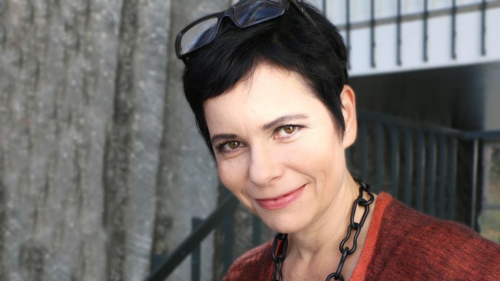 Carolina Norén Svensktoppens programledare.