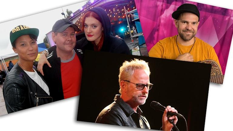 Icona Pop, Stiko Per Larsson och Uno Svennsingsson utmanar.
