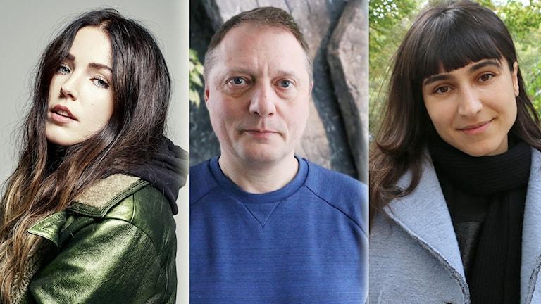 Laleh, Magnus Carlson och Miriam Bryant.