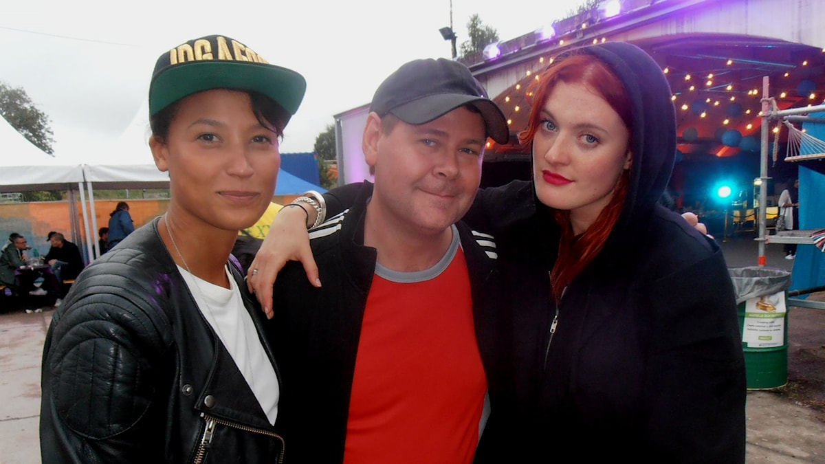 Icona Pop och Micke Cederberg